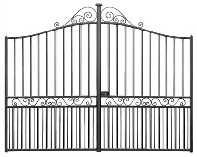 portail-fer-Aurillac-ajouré