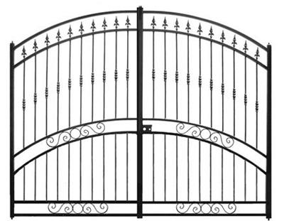 portail-fer-Mont-dor-ajoure